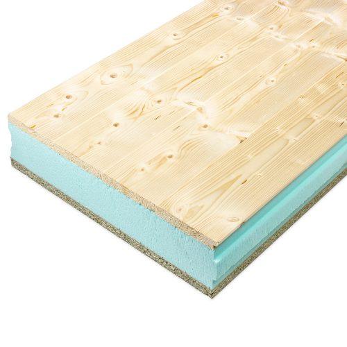 Panel Sandwich Teznocuber Tarima de madera